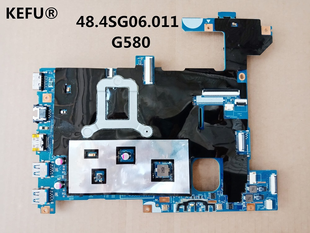 KEFU carte mère d'ordinateur portable pour lenovo G580 HM77 DDR3 LG4858 UMA carte mère MB 48.4SG06.011 11S900003-in Cartes mères from Ordinateur et bureautique on AliExpress - 11.11_Double 11_Singles' Day 1