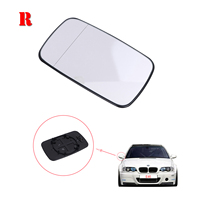 Right Side Door Wing Rearview Mirror For BMW E39 E46 323i 328i 525i 528i 540i Rear View Mirror Glass #P504 R