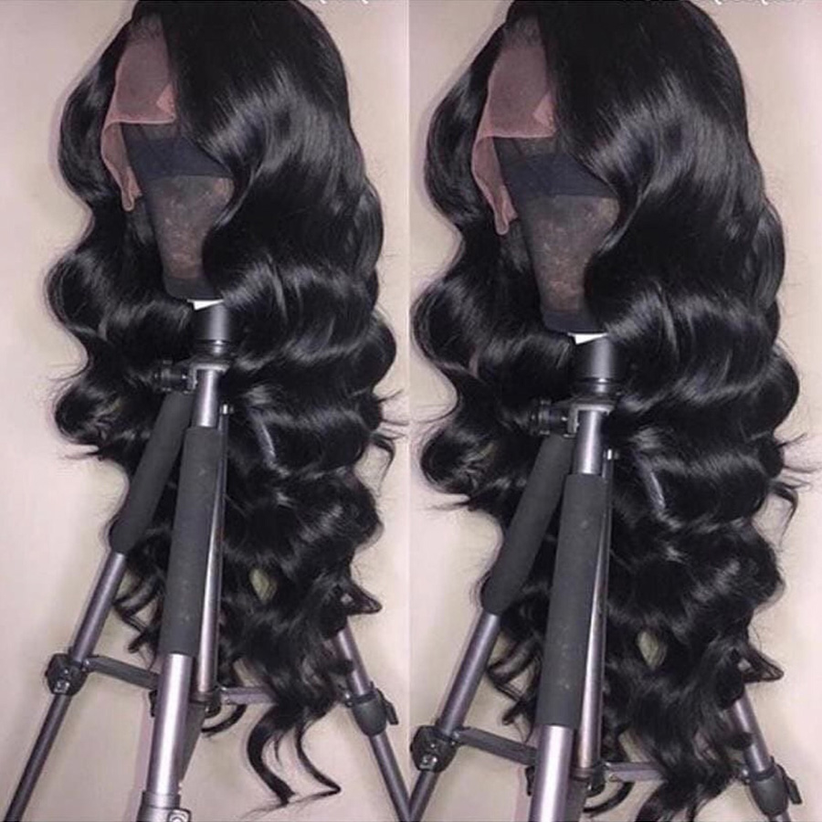 Loose Wave Human Hair Lace Front Wigs For Black Women Brazilian Remy Glueless Lace Front Human Hair Wigs Pre Plucked With Baby Hair For Guanyuhair