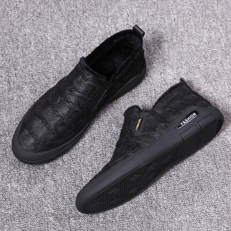 Qualidade Top 2018 Sapatos De Masculinos Heinrich Black Alta Inverno Novo Quentes Homens Confortável Manter Casuais Durável SpIWdz7AWq