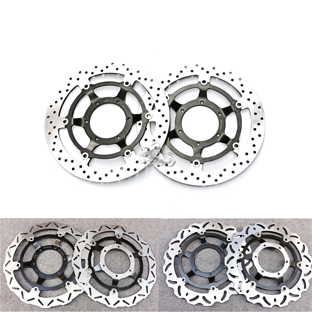 Floating Front Brake Disc Rotor For Motorcycle Honda CBR1000RR Fireblade 2008-2014 2009 2010 2011 2012 2013 front rider foot pegs brackets for honda cbr1000rr cbr 1000 cbr1000 rr 2008 2009 2010 2011 2012 2013 2014 2015 black