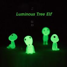Toy Resin Decoration Elves Birthday-Gifts Miyazaki Princess-Mononoke Micro-Landscape