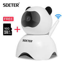 SDETER Wireless CCTV Security Camera Home Surveillance 720P IP Camera WIFI IR Night Vision Video Record