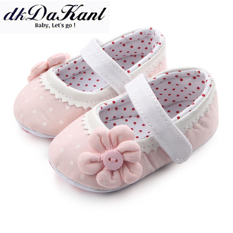Dkdakanl Toddler Shoes Rubber First-Walkers Newborn-Baby Baby-Girl Anti-Slip GXY057