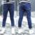 Kid Sólido Pantalones para Niñas Pantalones Vaqueros de Alta Calidad Pantalones de Mezclilla para el Otoño Chica Nueva Marca Pantalones de Primavera Niños Ropa de la Estrella 6-14