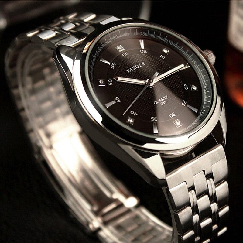 YAZOLE herren Uhr Leucht Armbanduhr Männer Uhr Top Marke Luxus Sport Uhren Männer Uhr erkek kol saati relogio masculino