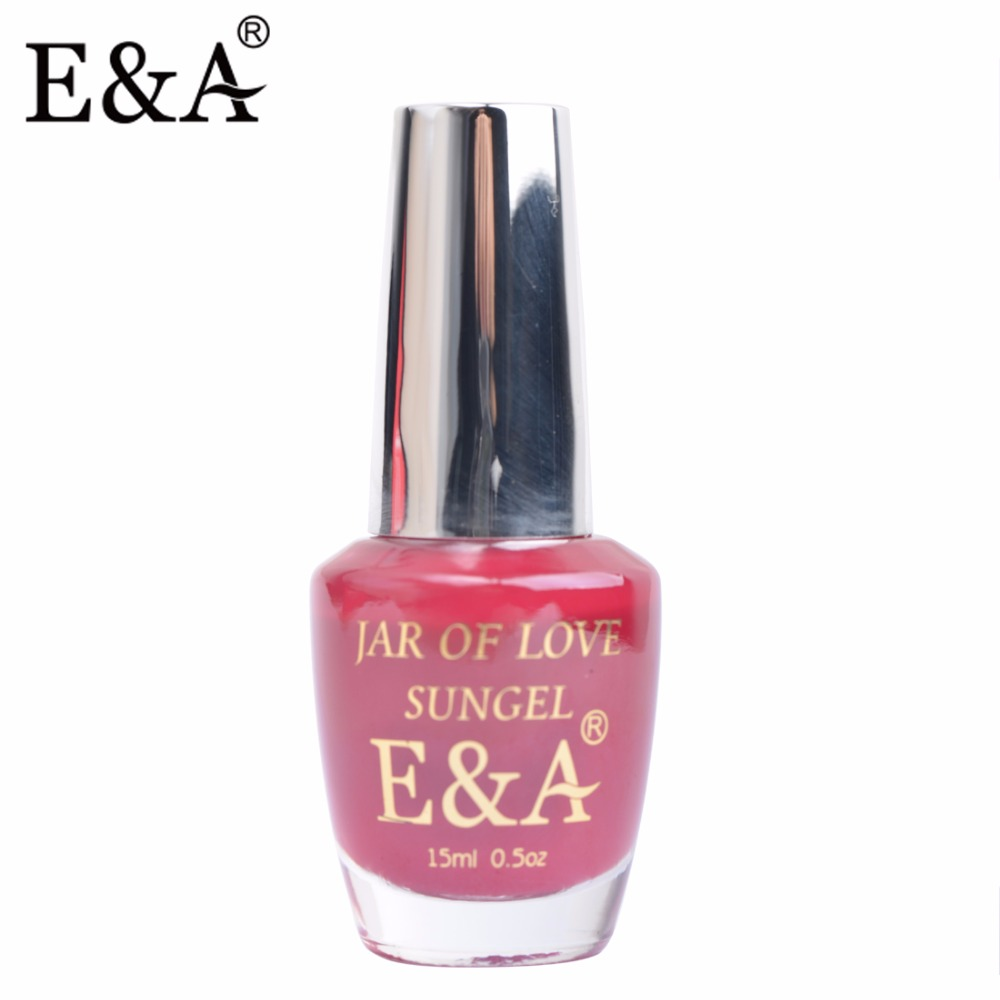 E&A 2016 Latest Jar of Love Sungel Quick Dry Nail Lacquer 15 ml Nail ...