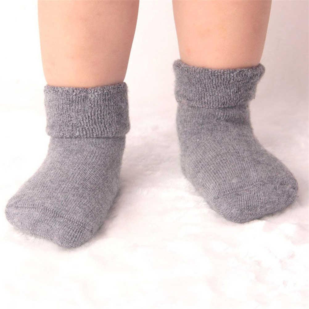 1 Paar Nieuwe Baby Meisje Jongen Pasgeboren Geboren Peuter Baby Winter Warme Laarzen Peuter Baby Zachte Sokken Booties Schoenen Voor 0-2 Jaar