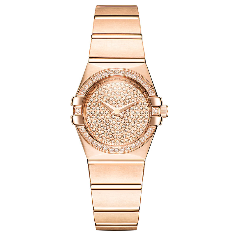 New Rose Gold Watches Woman Quartz Watch Ladies Dress Watch Steel Bracelet Waterproof Table Top Brand Luxury Relogio Feminino цена 2017