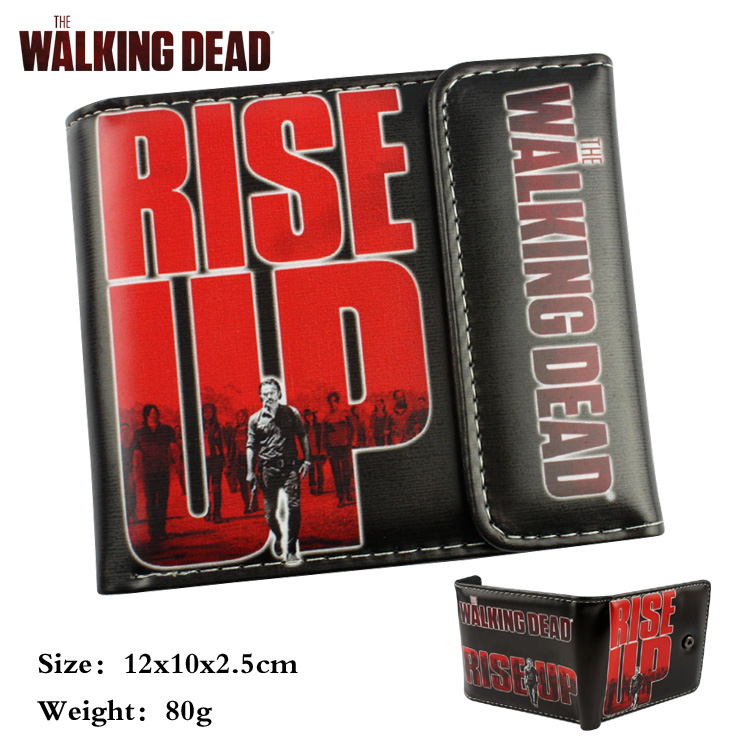 The Walking Dead wallet cartoon Purse for Young People mens women purse male female coin purses holders wallet young people young people all at once