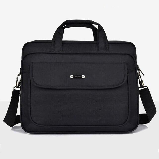 Homens da moda Saco 2018 Novo Homem Bolsas Oxford Sacos Do Mensageiro Sacolas de Viagem Ocasional Grande Capacidade de bolsa para Laptop de Negócios Bolsa de Ombro
