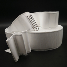 5 Meters Curtain hooks cloth tape curtain tape accessories white ribbon tape thickening encryption curtain