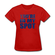 "Sheldon Cooper's ""You're In My Spot"" women's shirt"