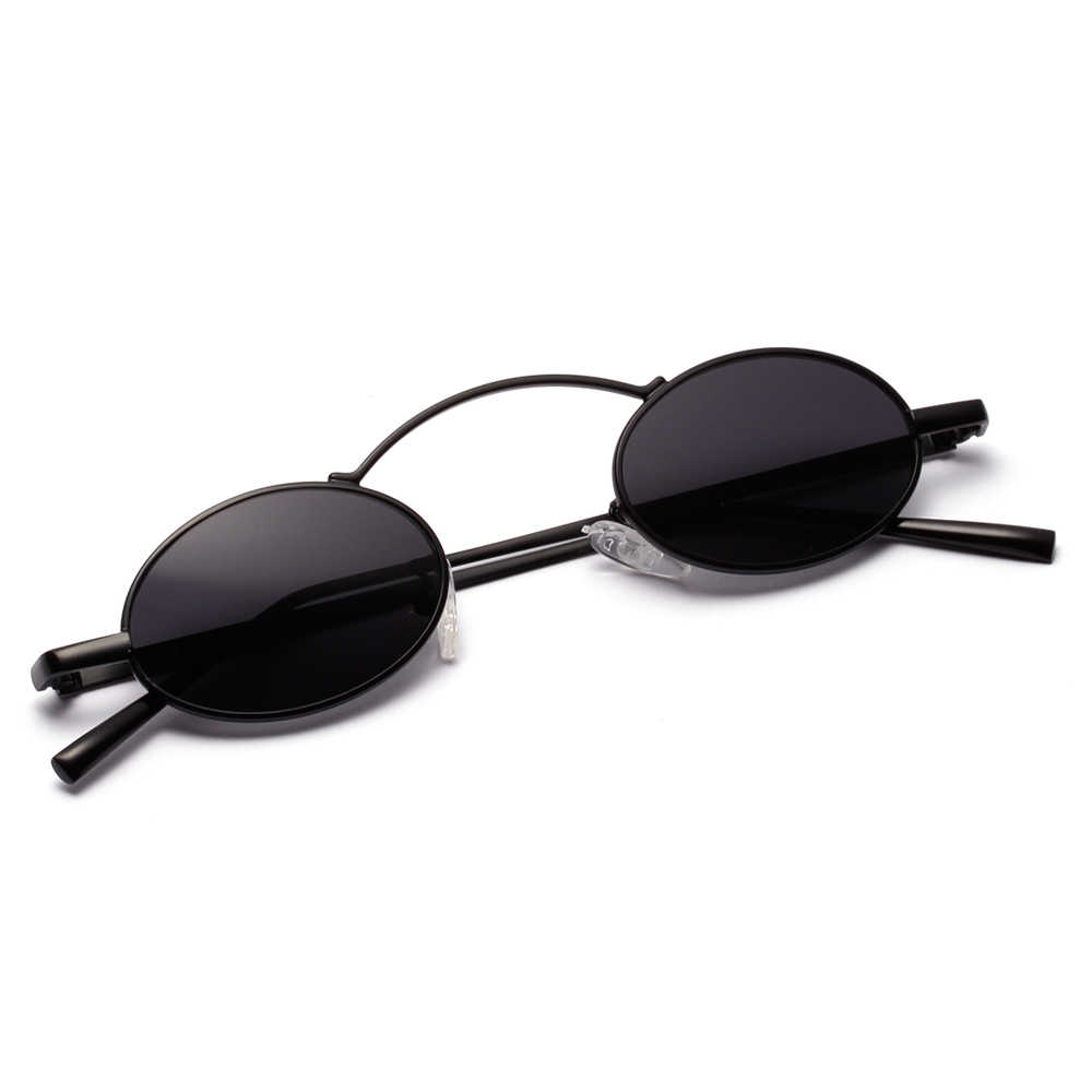 e3f2632c73b ... Peekaboo vintage small round sunglasses men red 2019 black oval sun  glasses for women retro unisex ...