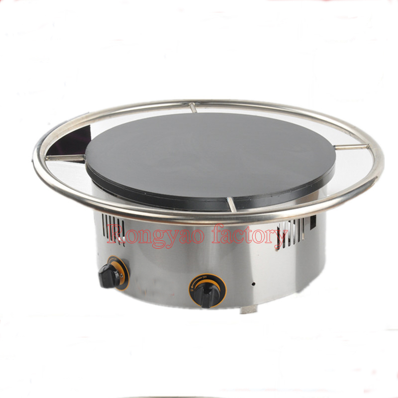 One Head Gas / Electric Crepe Maker Rotating Evenly Heating Making Machine|gas crepe maker|gas makercrepe making machine - title=