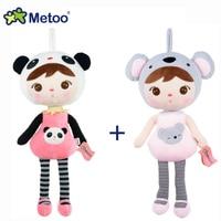 2pcs/lot 45cm Metoo Doll Stuffed Toys Plush Animals Soft Kids Baby Toys for Girls Children Boys Kawaii Cartoon Keppel Panda