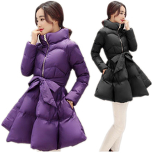 2017 New Fashion winter coat women warm outwear Padded cotton Jacket coat Womens Clothing High Quality parkas manteau femmeCM244