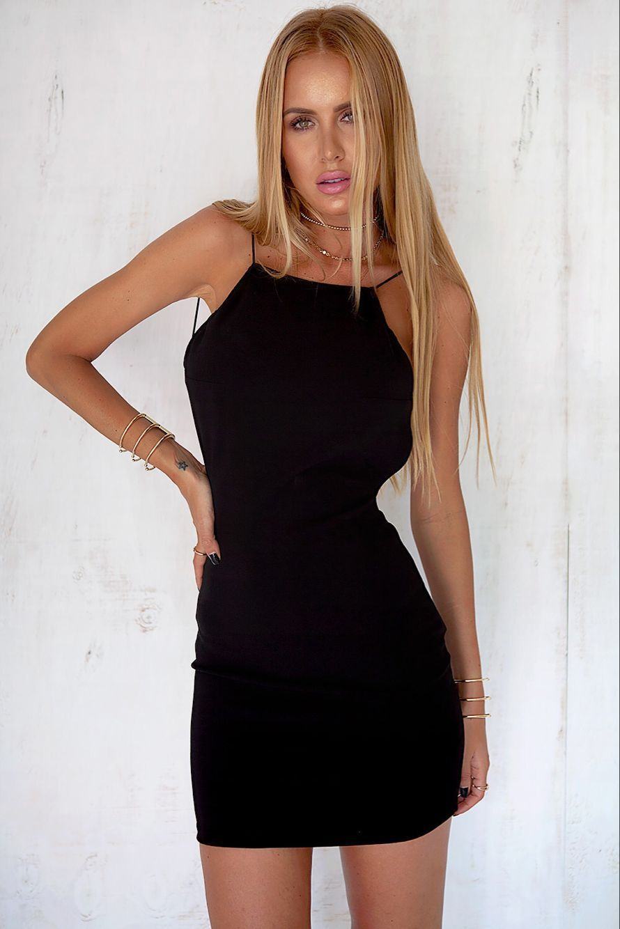 Sommer Frauen Solide Minikleid 2017 Sexy Schwarze Ärmellose Backless ...