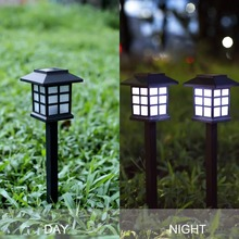 Classic Garden Street Decoration Lighting Lamps Solar Powered Square Lamp Garden Stake Landscape Lights Outdoor Yard LED Light mabor 2pcs 2w led solar lamps lighting powered pull wire cord switch lights outdoor