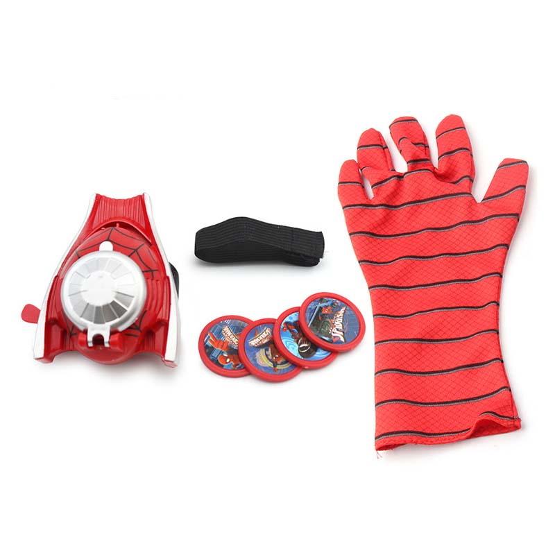 Spiderman Marvel Hero FX Glove Toy Halloween Party T Super Hero Launch Toys For Children 1 order in Action Toy Figures from Toys Hobbies