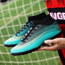 new arrival d3720 40087 Chaussures de Football professionnelles SuperflyX VI Elite CR7 MD 360  Flywire bottes de Football hommes femmes
