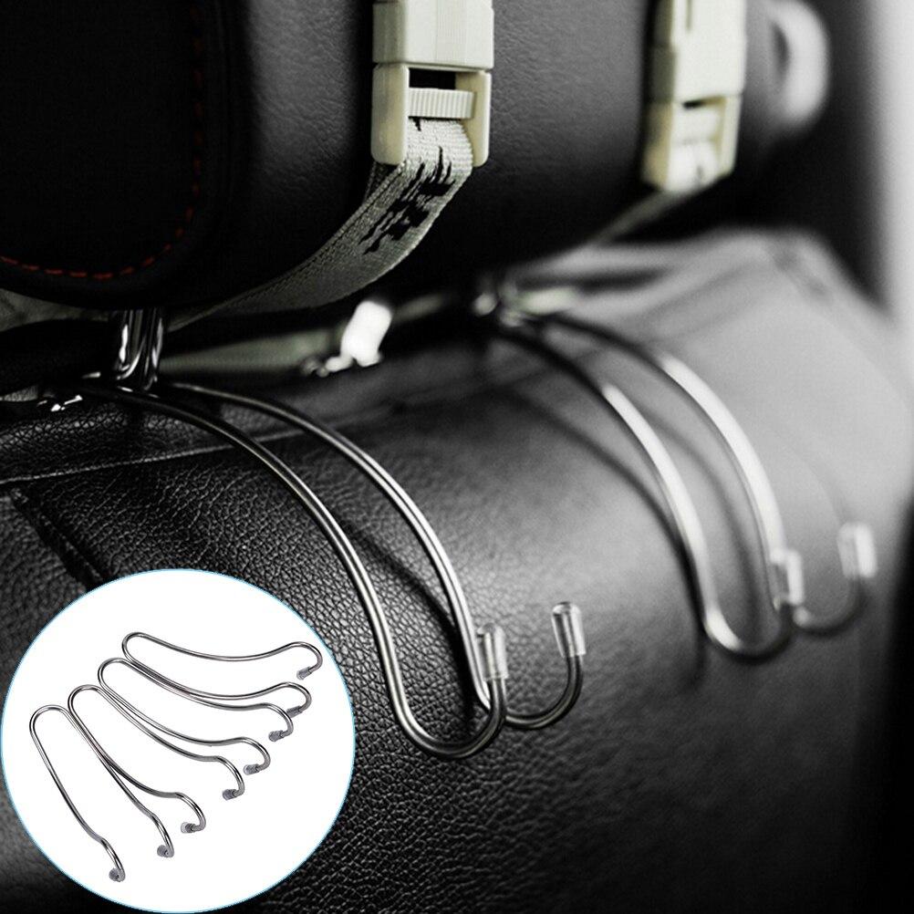 4X Car Seat Truck Coat Hook Purse Bag Hanging Hanger Auto Bag Organizer Holders//