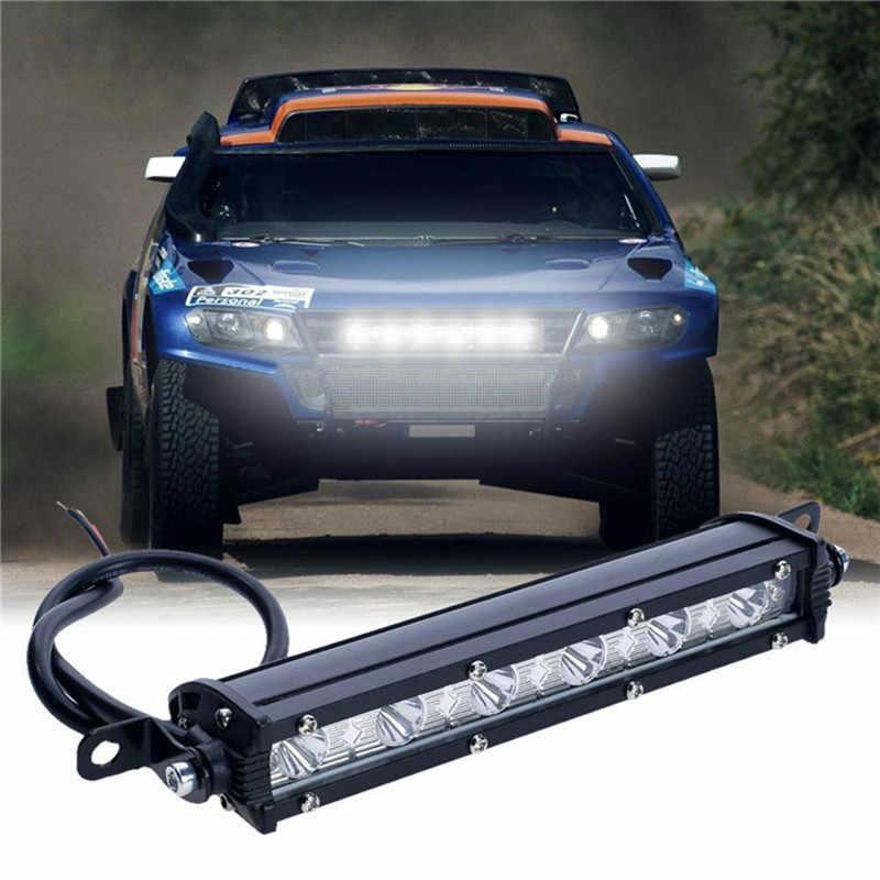 7 بوصة 18 واط 6LED قضيب مصابيح عملي مصباح قيادة الضباب قبالة الطريق SUV سيارة قارب شاحنة