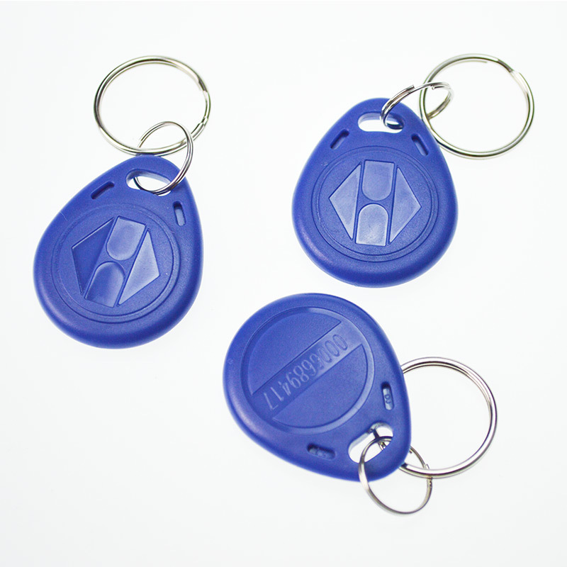 100Pcs/Lot Proximity EM4100 125KHz RFID EM-ID Card Tag Token Key Chain Keyfob Read Only 100pcs bag tk4100 em id keyfob k001