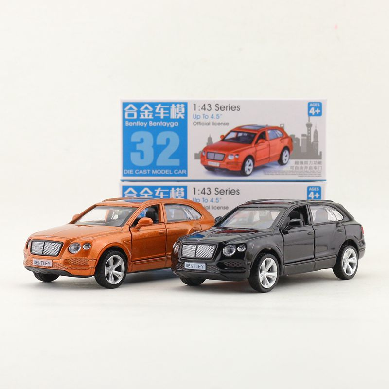 Toys & Hobbies 1:45 Scale/diecast Toy Model/bentley Bentayga Suv/super Sport Racing Car/educational Collection/pull Back/gift For Children
