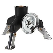 NEW Outdoor Camping Gas Stove Adapter Three Leg Transfer Head Adaptor Gas Bottle Screwga Equipment Pure