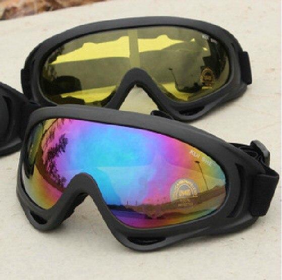 УФ-Защита Off-Road Ветрозащитный мотоцикл вне спорта езда очки лыжи зеркало велосипедные очки