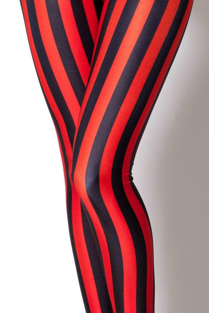 Aliexpress.com : Buy Womens four colors Striped Spandex Leggings ...
