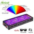LED crece la luz de espectro completo 300 W 600 W 800 W 1000 W 1200 W 1500 W 1800 W 2000 W con doble Chip rojo/azul/UV/IR para plantas de interior