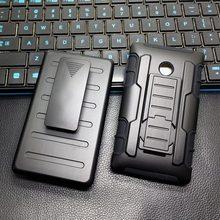 Человек Стиль Мода Чехол Для Lumia 435 Задняя Крышка Жесткий Телефон дело Броня Робота Чехол Для Nokia Lumia 532 435 С Поясом клип