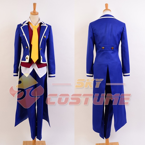 No Game No Life Cosplay Costume Sora Noble Uniform Outfit Full Set Halloween Movie Cosplay Costume For Men