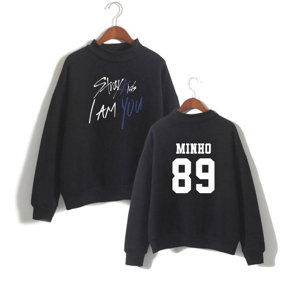 Stray Kids I Am WHO Kpop Hoodies Hooded Women Moleton Harajuku Unisex Sweatshirt Cotton Men Casual Coat 4XL