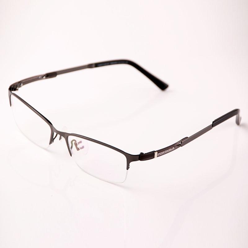 Sınıf Erkek Kadın Asetat ve Metal Gözlük Çerçeveleri Marka - Elbise aksesuarları - Fotoğraf 4