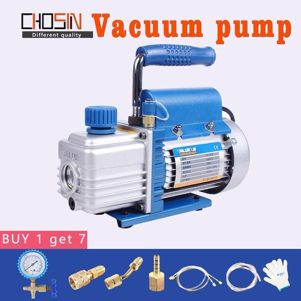 Mini Air Ultimate Vacuum Pump 220V Air Compressor LCD Separator Laminating Machine HVAC Refrigeration Repair Tools