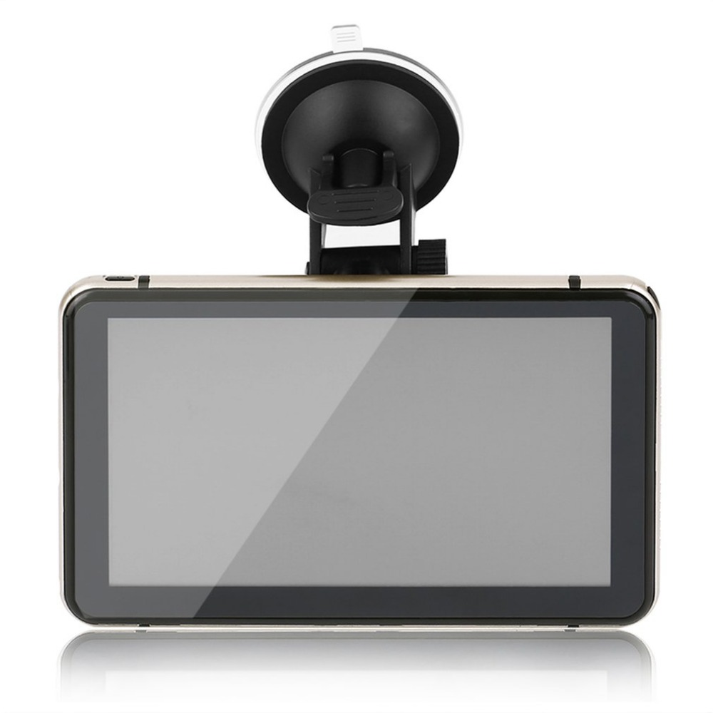 все цены на  7 Inch Car GPS Pianet Navigation Vehicle Traveling Data Recorder Smart For Android Bluetooth WIFI Support Rear View Camera  онлайн