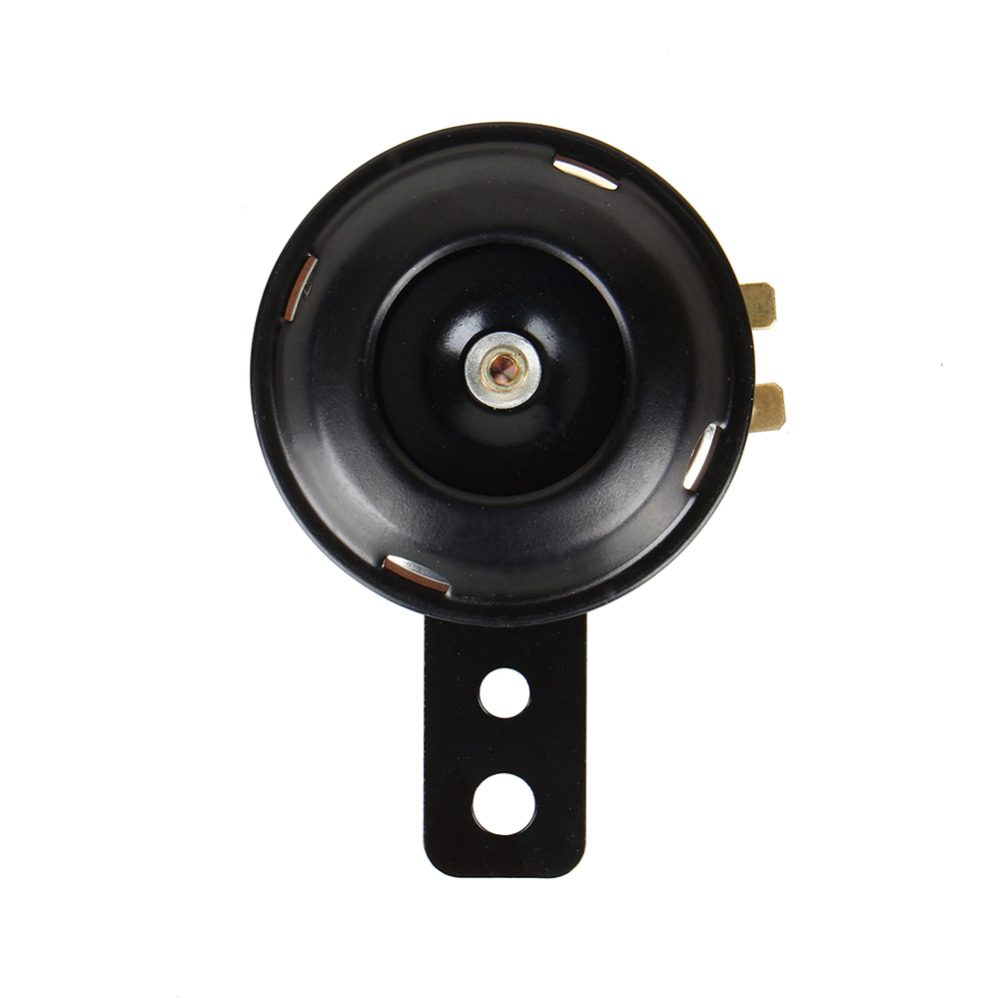 12 V Super Loud 105dB Scooter Moped Dirt Bike ATV Motorcycle Air Horn 70 Mm A24 Sound Output 105 Db Handle Length 89 Mm Black