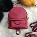 Luxury Genuine Leather Women Backpacks Fashion Ladies Cowhide Shoulder Bag Famous Brand Female Crossbody School Bags