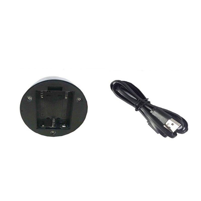 Cable Usb Base De La Lámpara Táctil Para El Reemplazo De La Luz Nocturna Del Led 3d 7 Colores De La Luz Base De La Tabla De Decoración Del Soporte De La Gota Envío Servicio Durable