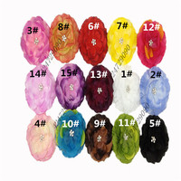 Wholesale Headband Hair Accessories Flower Clip Crochet Girls Baby Lady Children Tiara Hair Multicolor Choose Mix