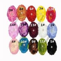 Wholesale Headband Hair Accessories Flower Clip Crochet Girls Baby Lady Children Tiara Hair Multicolor Choose Mix