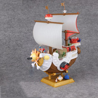 1Pcs Set Anime One Piece Pirate Ship Action Figure Thousand Sunny Meryl Boat Ship Pirate Ship