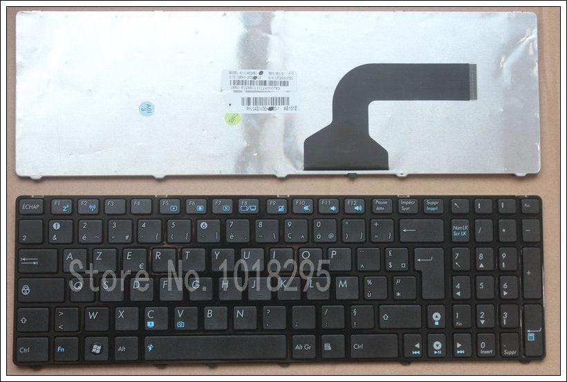 French for Asus K52 K52F K52J K53SV K52DE K52JB K52JC K52JE K52N A72 A72D A72F A72J N50 N50V K53SC with frame FR laptop keyboard