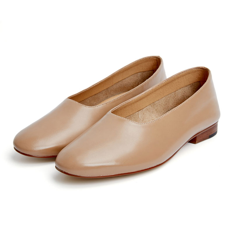 Women Flats Designer Loafers Genuine Leather Flat Shoes ...
