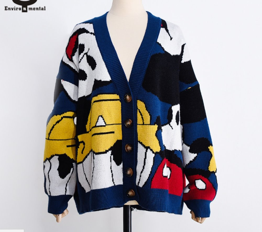Coat Knitting red Quality blue Pearl Black Women Woman Female Cardigan Diamond High Knitted silver Sweater Animals Knit Buttom Crochet Cardigans Tops 0xx5HFSq