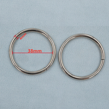 (10 pieces/lot)4mm thick. An inner diameter of 38mm metal buckle. Metal hoop. Circle. Clothing & Accessories. Hanging Rings.