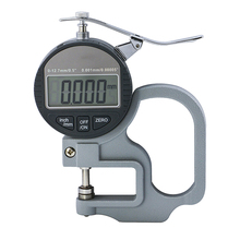 Digital display thickness gauge 0-12.7mm 0.001mm Thickness Gauge thickness meter paper film thickness tester